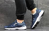 Мужские кроссовки Reebok Fury,сетка,темно голубые, фото 1