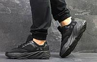 Летние мужские кроссовки Adidas Yeezy Wave Runner 700 Black (,) 42,43,44р, фото 1