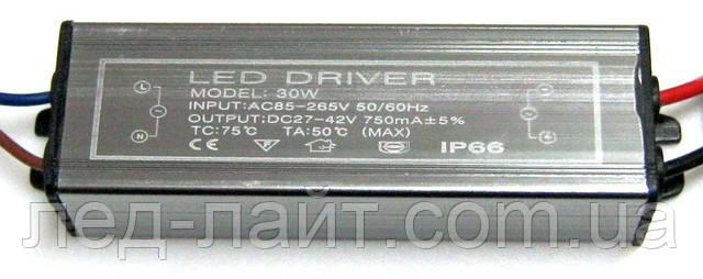 драйвер светодиодов 750мА 21-30Вт