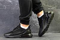 Летние мужские кроссовки Nike Air Max 270,черные  44р, фото 1