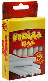 Мел белый Набор 12 штук. 51506-ТК  Tiki