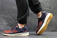 Мужские кроссовки Puma Ignite Evoknit,темно синие с оранжевым, фото 1