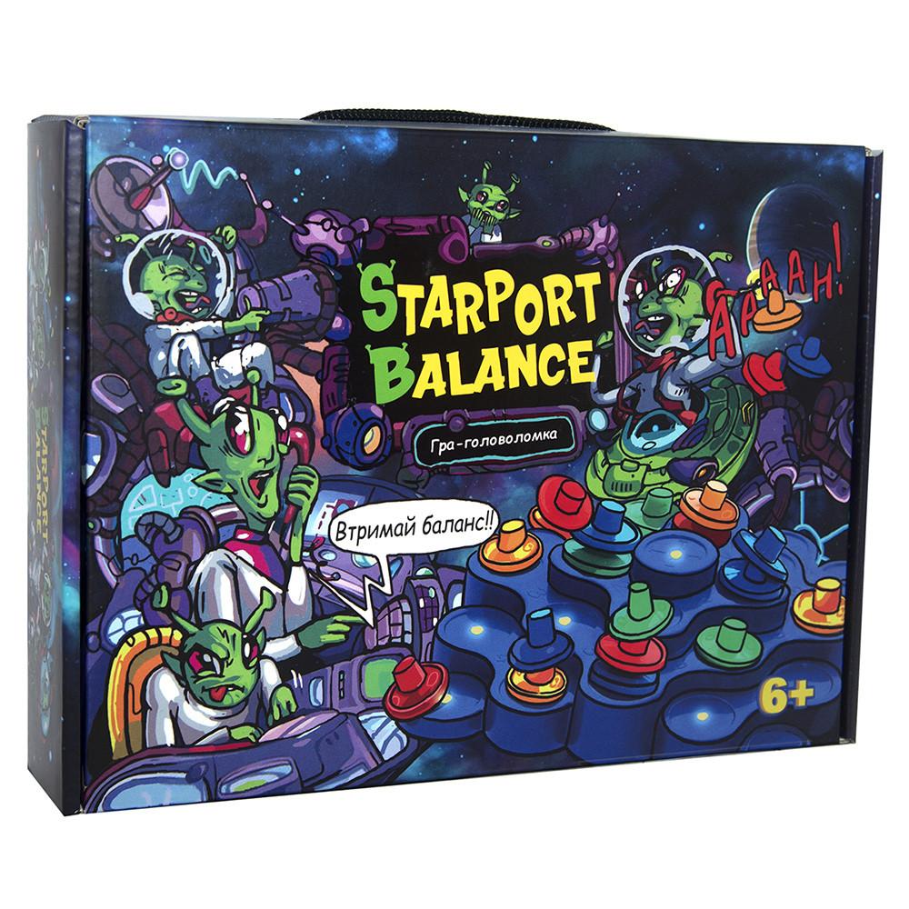 "Настільна гра ""Starport balance"" (укр), в кор. Стратег /11/"