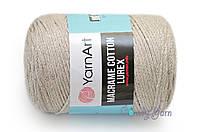 YarnArt Macrame Cotton Lurex, Молочный №725