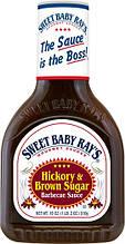 Барбекю соус Sweet Baby Ray's Hickory&Brown Sugar, 510 г.