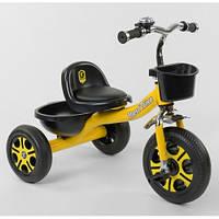 """Детский трехколесный велосипед """"Best Trike"""" LM-9033 , Желтый"""