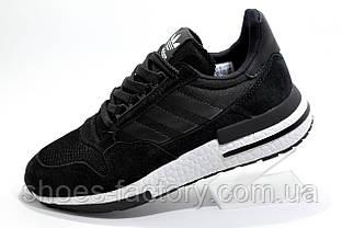 Кроссовки унисекс в стиле Adidas ZX 500 RM Boost, Black\White