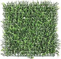 Декоративное зеленое покрытие Самшит 50х50 см GCK-03