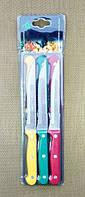 Набор кухонных ножей JC-357 с зубчиками из 6шт, 22см