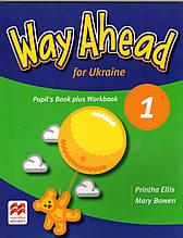 Учебник и рабочая тетрадь  Way Ahead for Ukraine 1 Pupil's book + Workbook