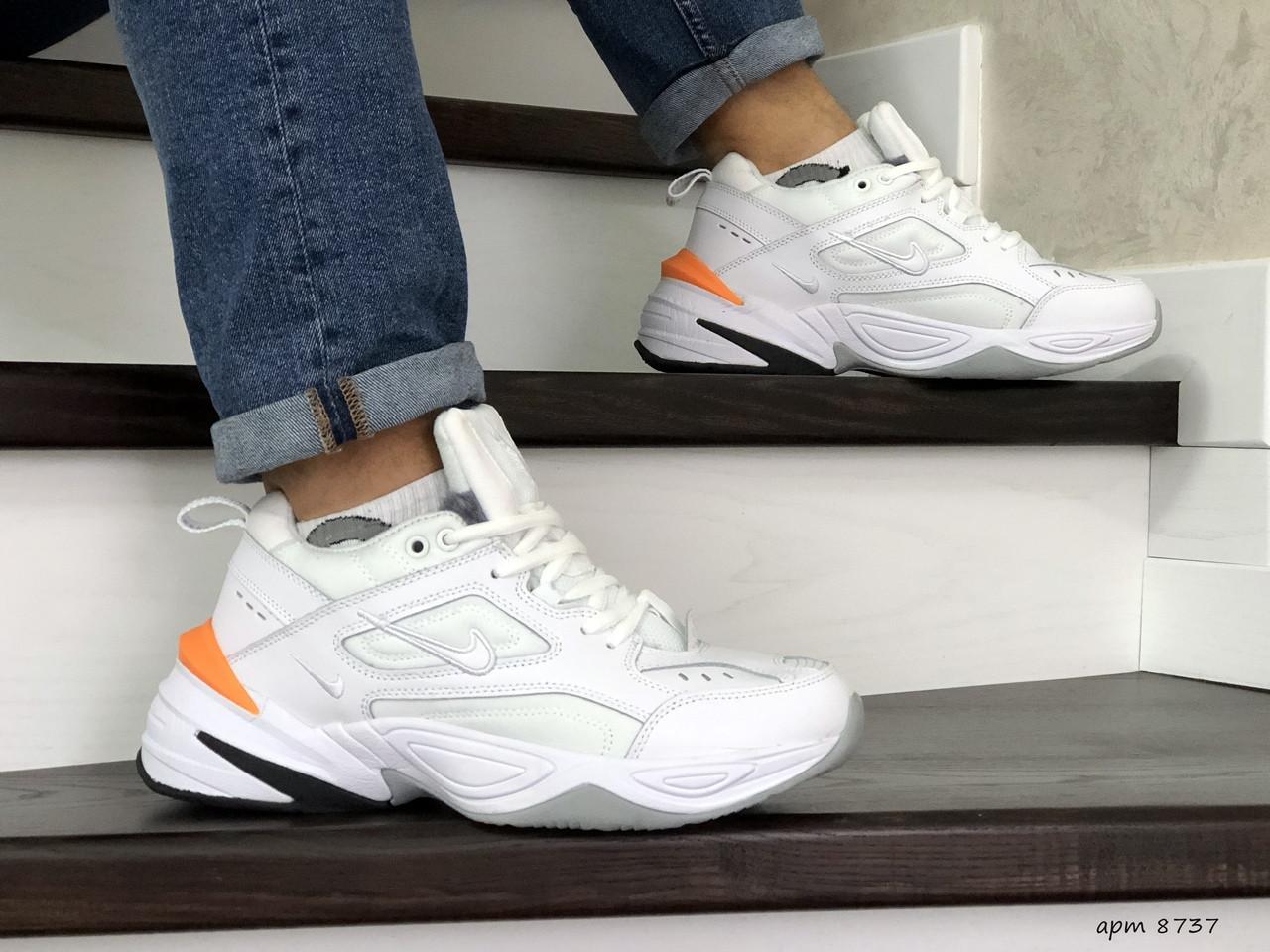 Мужские зимние кроссовки Nike Air Monarch,белые