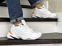 Мужские зимние кроссовки Nike Air Monarch,белые, фото 1