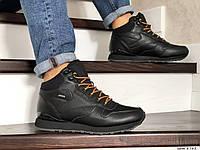 Мужские высокие зимние кроссовки Reebok,черные, фото 1