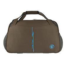 Дорожная сумка Tong Scheng  52х33х26 ткань нейлон коричневая   кс99210кор, фото 2
