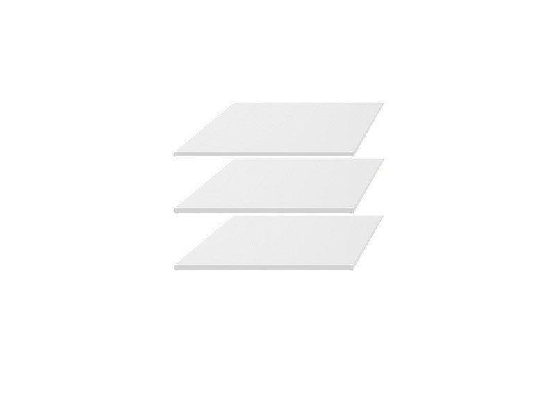 Полиці для шафи (3 шт.) KIOTO SZF2D1S BRW білий