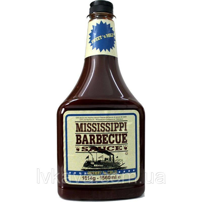 Барбекю соус Mississippi Barbecue Sauce Sweet, 1814 г.