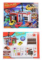 Паркинг F9006 Вилли и крутые тачки автосервис с метал.машинками,отверткой.кор.46*7*34 /24/