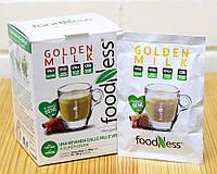 Напиток Золотое молоко с куркумой Foodness, 20 г (Италия)
