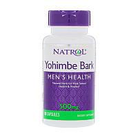 Экстракт Йохимбе Natrol Yohimbe Bark 500 mg 90 caps