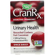 """Клюква Nature's Way """"CranRx Urinary Health"""" биоактивная, 500 мг (30 капсул)"""