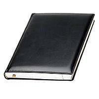 Ежедневник А5 Топ Сильвер датированный, кремовый блок, черный, от 10 шт