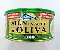 Тунец Hacendado в оливковом масле 900г