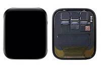 Дисплей (Экран) для умных часов Apple Watch Series 5 (40mm) с сенсорным стеклом (Черный) Оригинал Китай