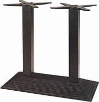 БАЗА ПИРАМИДА NEW DOUBLE BLACK. Основания для стола. Подстолья.