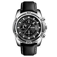 Skmei 9156 avalon черные мужские классические часы, фото 1
