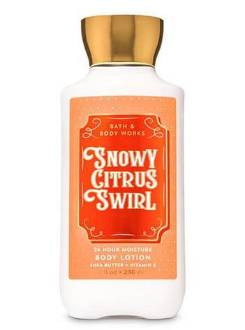Лосьон для тела Bath&Body Works Snowy Citrus Swirl Body Lotion 236 мл, фото 2