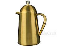 CT La Cafetière Edited Кофейник Termique с двойной стенкой золотистого цвета (3 чашки), фото 1