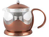 CT La Cafetière Origins Чайник медного цвета 1200 мл, фото 1
