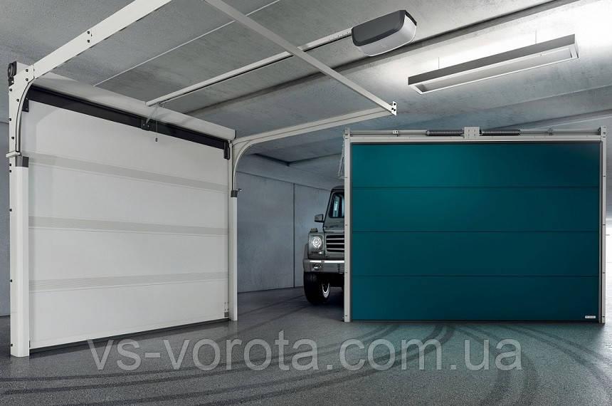 Ворота WISNIOWSKI UNIPRO размер 2500Х2100 секционные гаражные