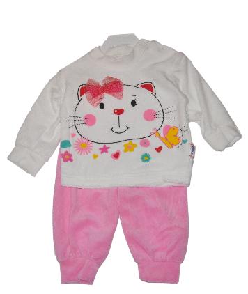 Костюм детский велюровый от 9-18 мес.  Детская одежда оптом.