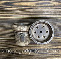 Глиняная чаша для кальяна Goliath Bowls - Crater (Vintage)
