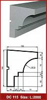 Фасадный подоконник DС 115 Prestige décor