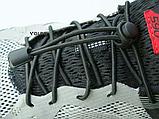 Шнурки для обуви эластичные с металлическими фиксаторами концов шнурка VOLRO две пары в комплекте (vol-526), фото 6