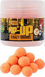Бойлы Brain Pop-Up F1 10мм 20г Crazy Orange