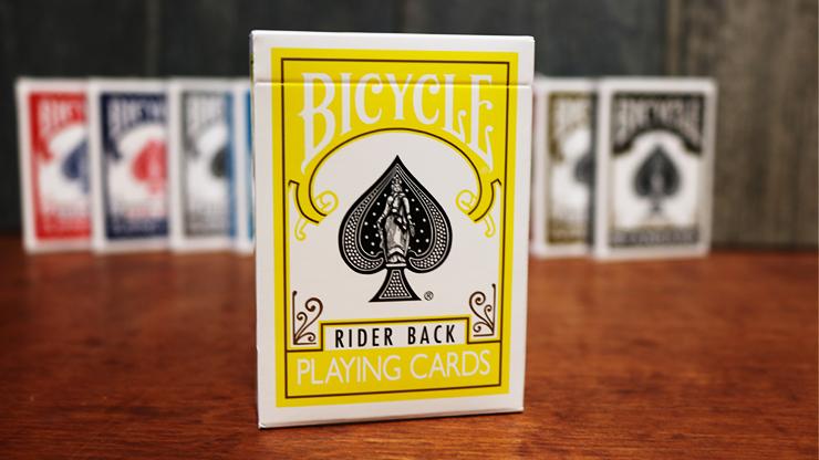 Игральные карты | Bicycle Yellow Playing cards