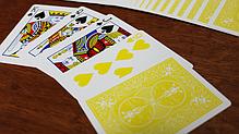 Игральные карты | Bicycle Yellow Playing cards, фото 3