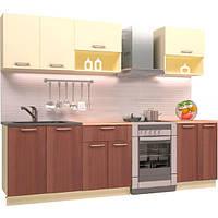 Кухня Виолетта New ДСП 2 м Грейд-Плюс