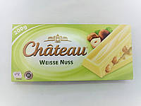 Шоколад белый с фундуком Weisse Nuss Chateau 200г