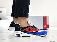 Мужские кроссовки New Balance 1500,красные с синим, фото 1