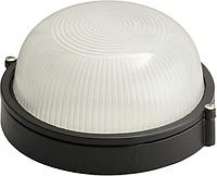 Светильник 60W круг чёрный