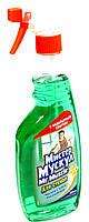 Мистер Мускул средство для стекол с нашатырным спиртом 500мл. с распылителем