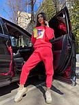 Женский утепленный спортивный костюм из футера с принтом 7105886, фото 4