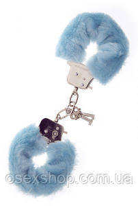Наручники Metal Handcuff with Plush. BLUE