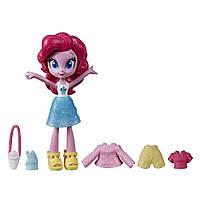 Май литл пони кукла Девушки Эквестрии Модный отряд Пинки Пай 10 см. Оригинал Hasbro E9247/E9244
