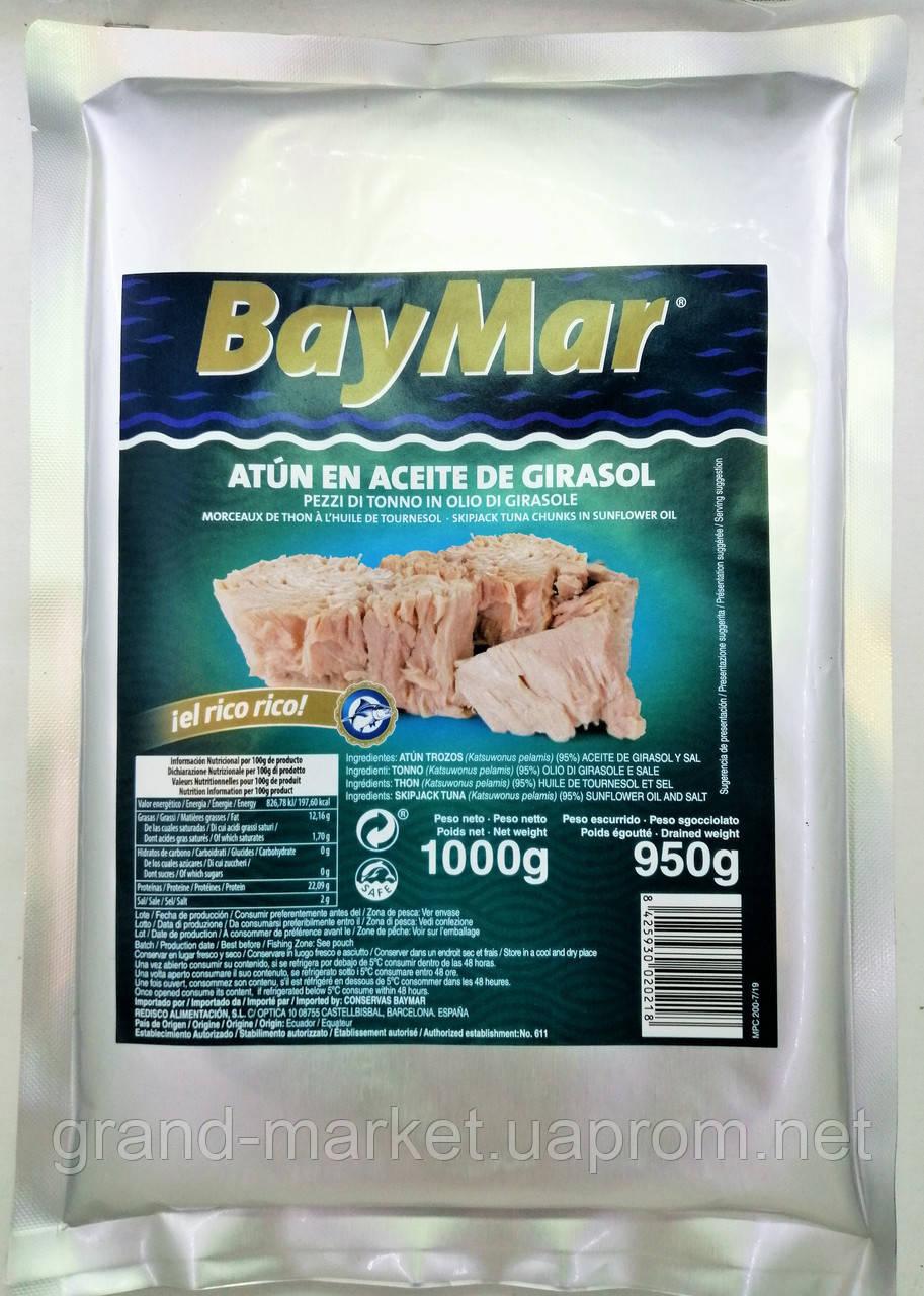Тунець у фользі Bay Mar в соняшниковій олії 1 кг