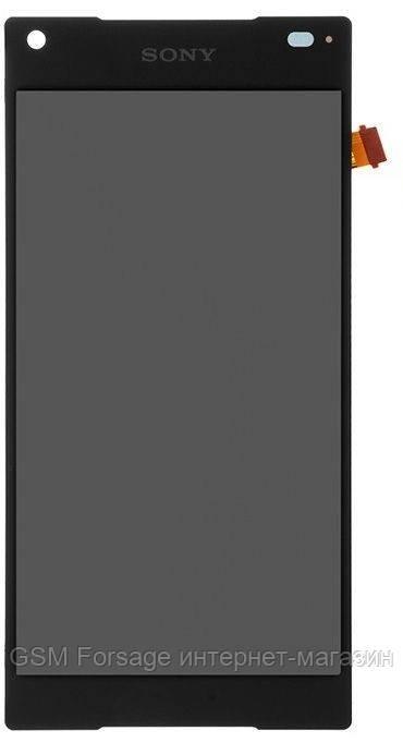 Дисплей Sony Xperia Z5 Mini E5823 Black complete